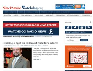 newmexico.watchdog.org screenshot