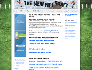 newnfldraft.com screenshot