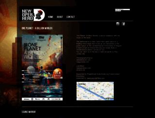 newoperahero.com screenshot