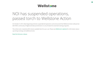 neworganizing.wellstone.org screenshot