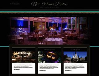 neworleansparties.com screenshot