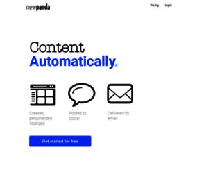 newpanda.com screenshot
