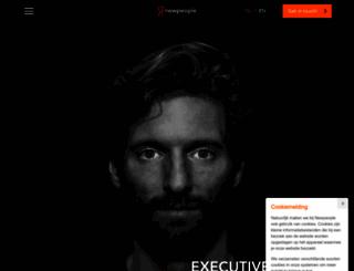 newpeople.nl screenshot