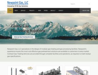 newpointgas.com screenshot
