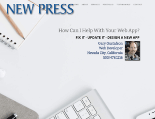 newpress.com screenshot
