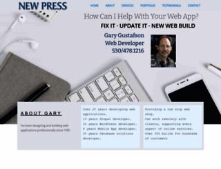 newpress.com screenshot