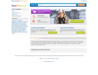 newprice.co.uk screenshot