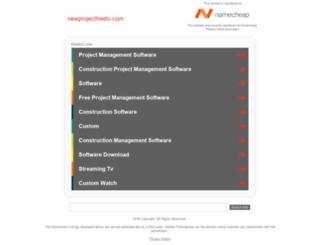 newprojectfreetv.com screenshot