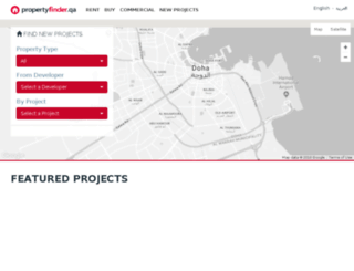 newprojects.propertyfinder.qa screenshot
