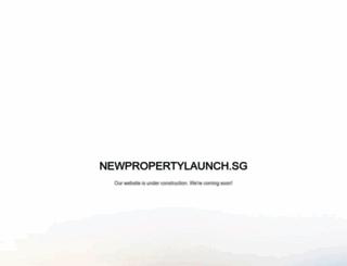 newpropertylaunch.sg screenshot
