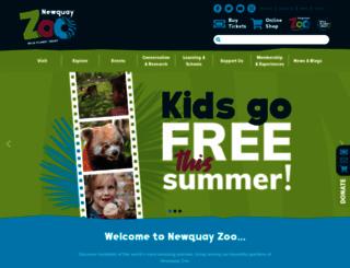 newquayzoo.org.uk screenshot