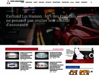 news-assurances.com screenshot