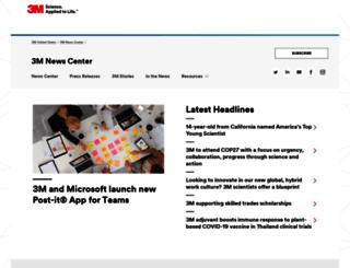 news.3m.com screenshot