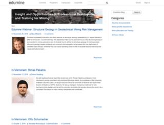 news.edumine.com screenshot