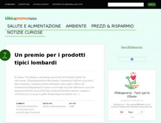 news.klikkapromo.it screenshot