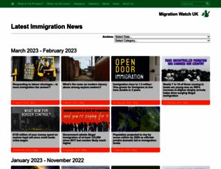 news.migrationwatch.org.uk screenshot
