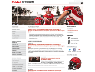 news.riddell.com screenshot
