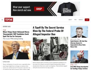 news.talkingpointsmemo.com screenshot