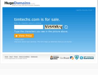 news.timtechs.com screenshot