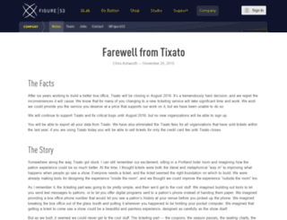 news.tixato.com screenshot