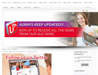 news.ubiz.mobi screenshot