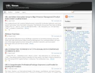 news.ubl.org screenshot