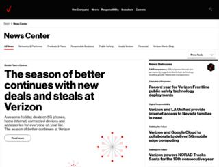 news.verizonenterprise.com screenshot