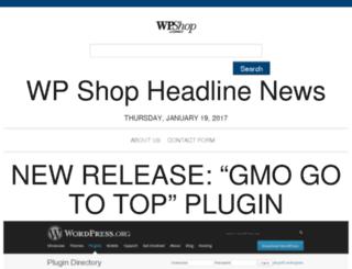 news.wpshop.com screenshot