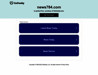news784.com screenshot
