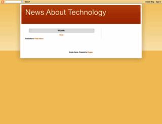 newsabouttechnology2014.blogspot.com screenshot