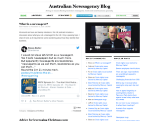 newsagencyportal.com.au screenshot