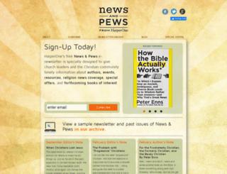 newsandpews.com screenshot
