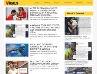 newsandvirals.com screenshot