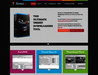 newsbin.com screenshot