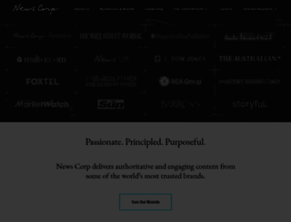 newscorp.com screenshot