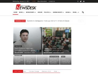 newsdesk.ph screenshot