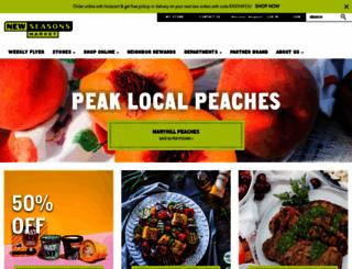 newseasonsmarket.com screenshot