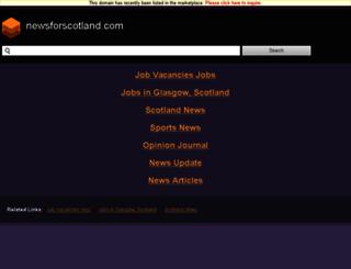 newsforscotland.com screenshot