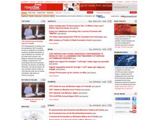newsfox.pressetext.com screenshot