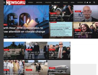 newsgru.com screenshot