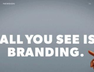 newsign.ch screenshot