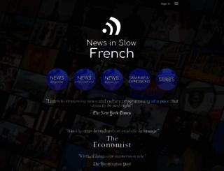 newsinslowfrench.com screenshot