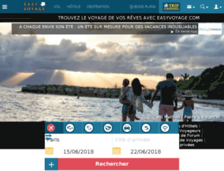 newsletter-voyage.com screenshot