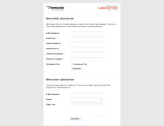 newsletter.thermondo.de screenshot