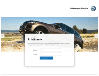 newsletter.volkswagen.sk screenshot