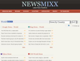 newsmixx.com screenshot