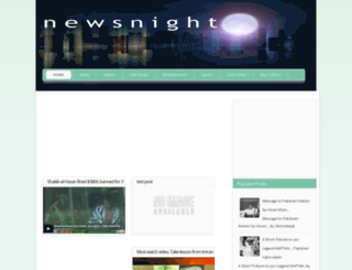newsnight.blogspot.com screenshot
