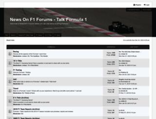 newsonf1.net screenshot