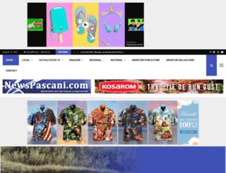 newspascani.ro screenshot