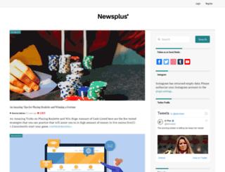 newsplus.my screenshot